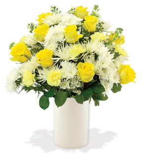 Treasured Moments - Yellow & White