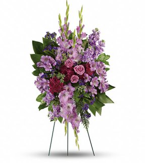 Bouquet «Réflection de lavande»
