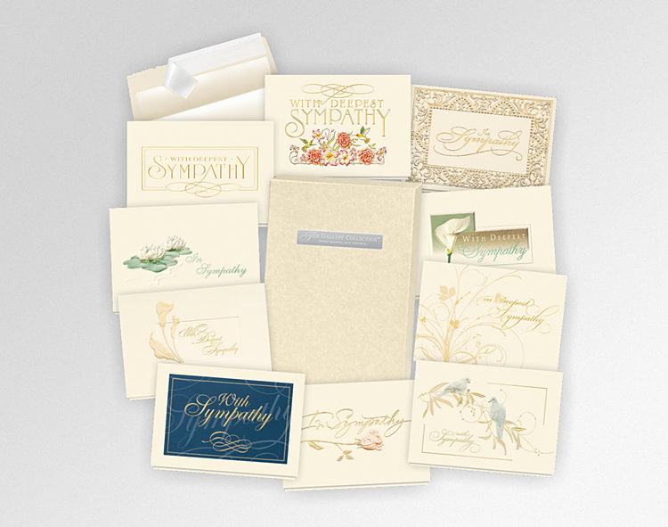 Formal Sympathy Card Assortment Box - Greeting Cards