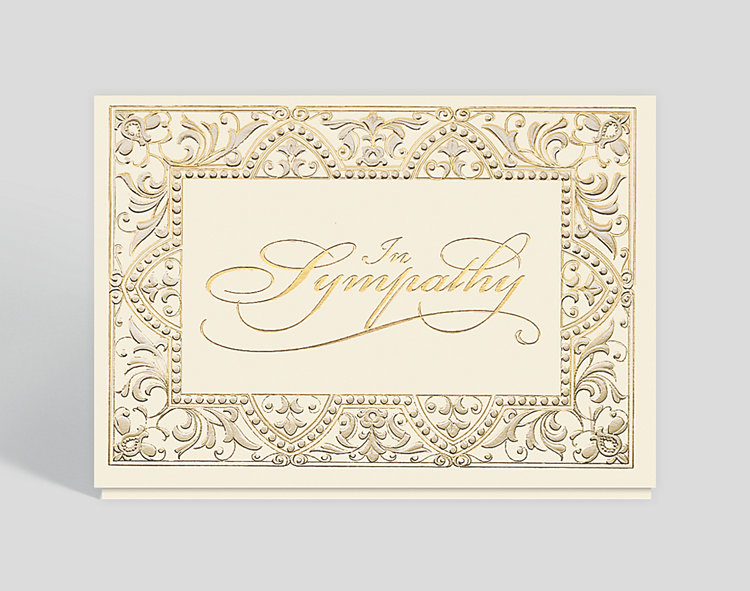 Elegant Sympathy Card - Sympathy Cards