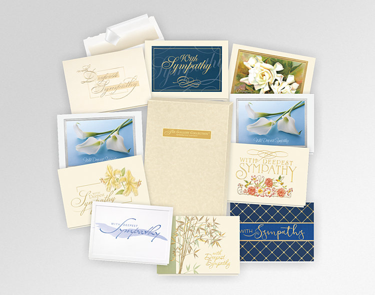 Sympathy Card Assortment Box - Greeting Cards