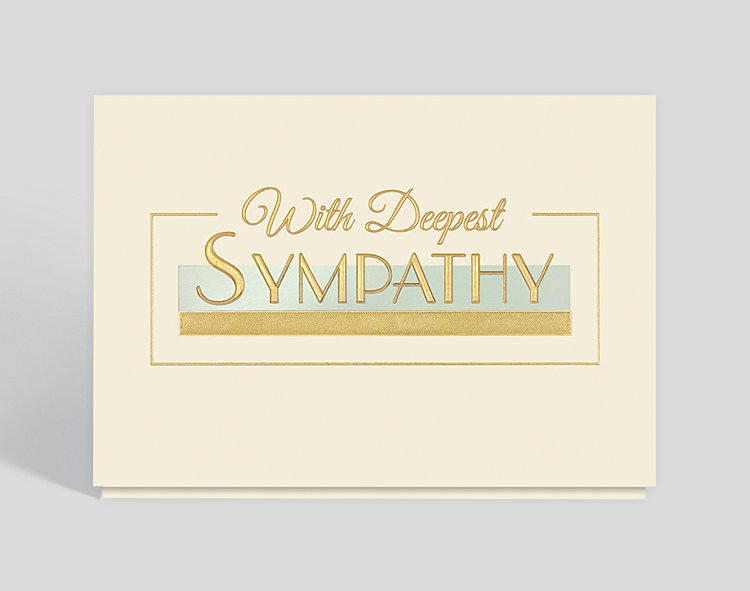 Corporate Sympathy Card - Greeting Cards