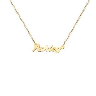 Mini Personalized Name Necklace