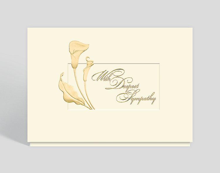 Classic Sympathy Card - Sympathy Cards