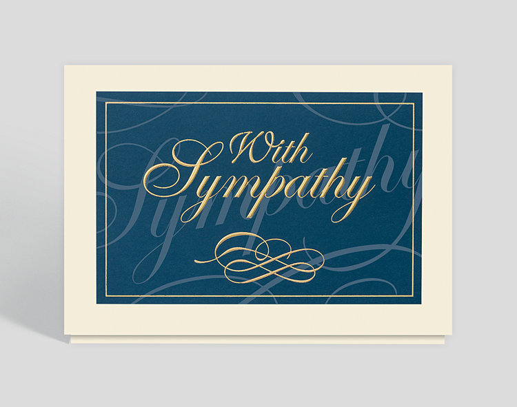 Classically Elegant Sympathy Card - Greeting Cards
