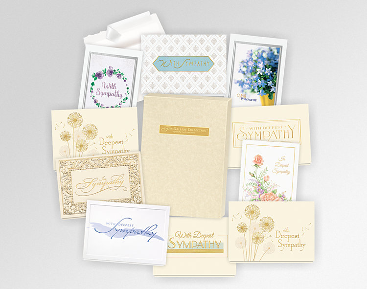 2018 Sympathy Assortment Box - Greeting Cards