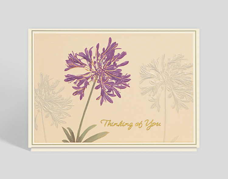 Thinking of You Blossoms Card - Business Thinking of You Cards