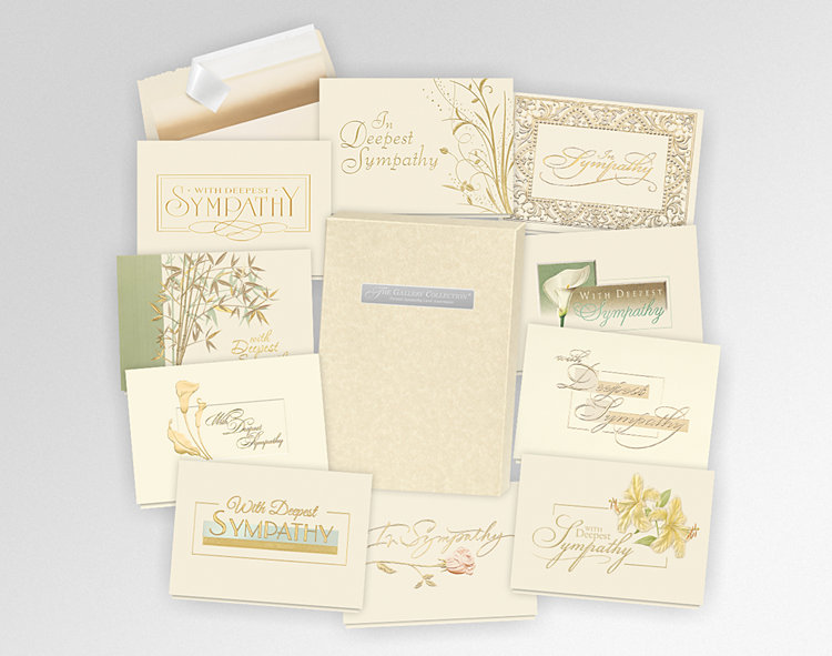 2018 Formal Sympathy Assortment Box - Greeting Cards